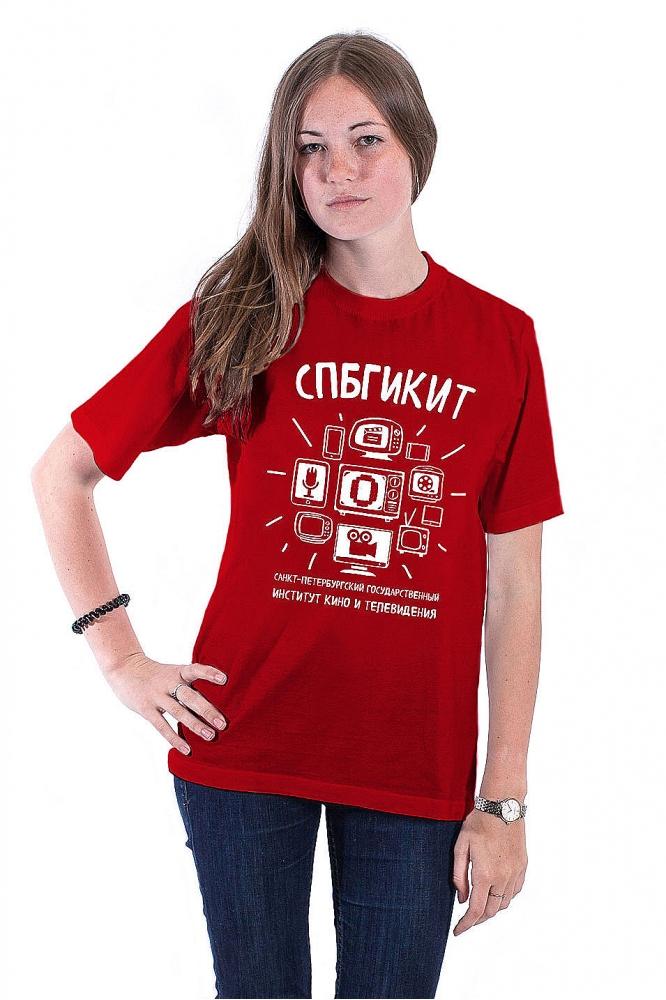 Футболка СПБИКиТ №1