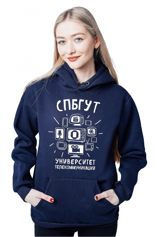 Толстовка СПБГУТ №1