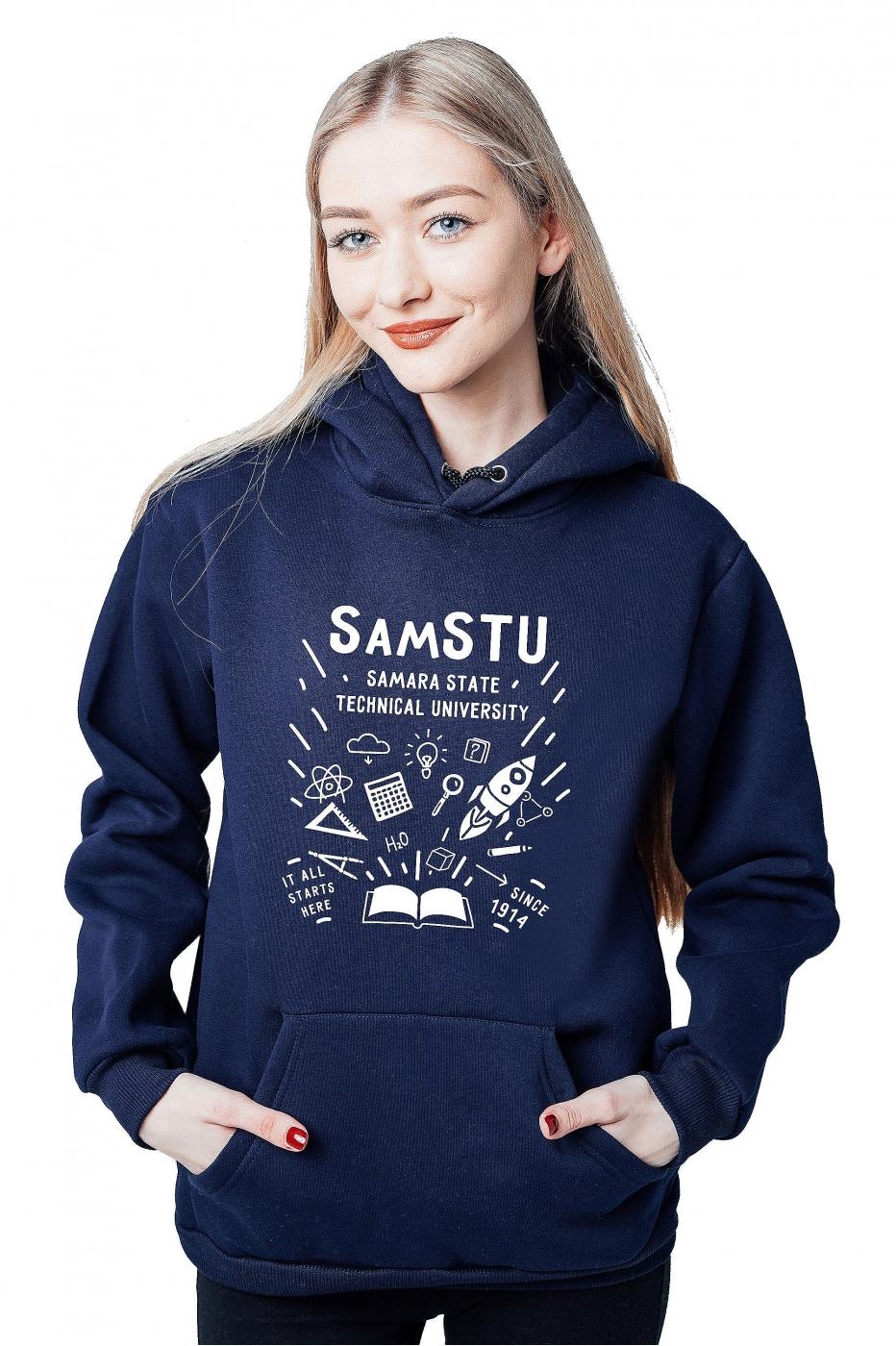 Толстовка СамГТУ №1