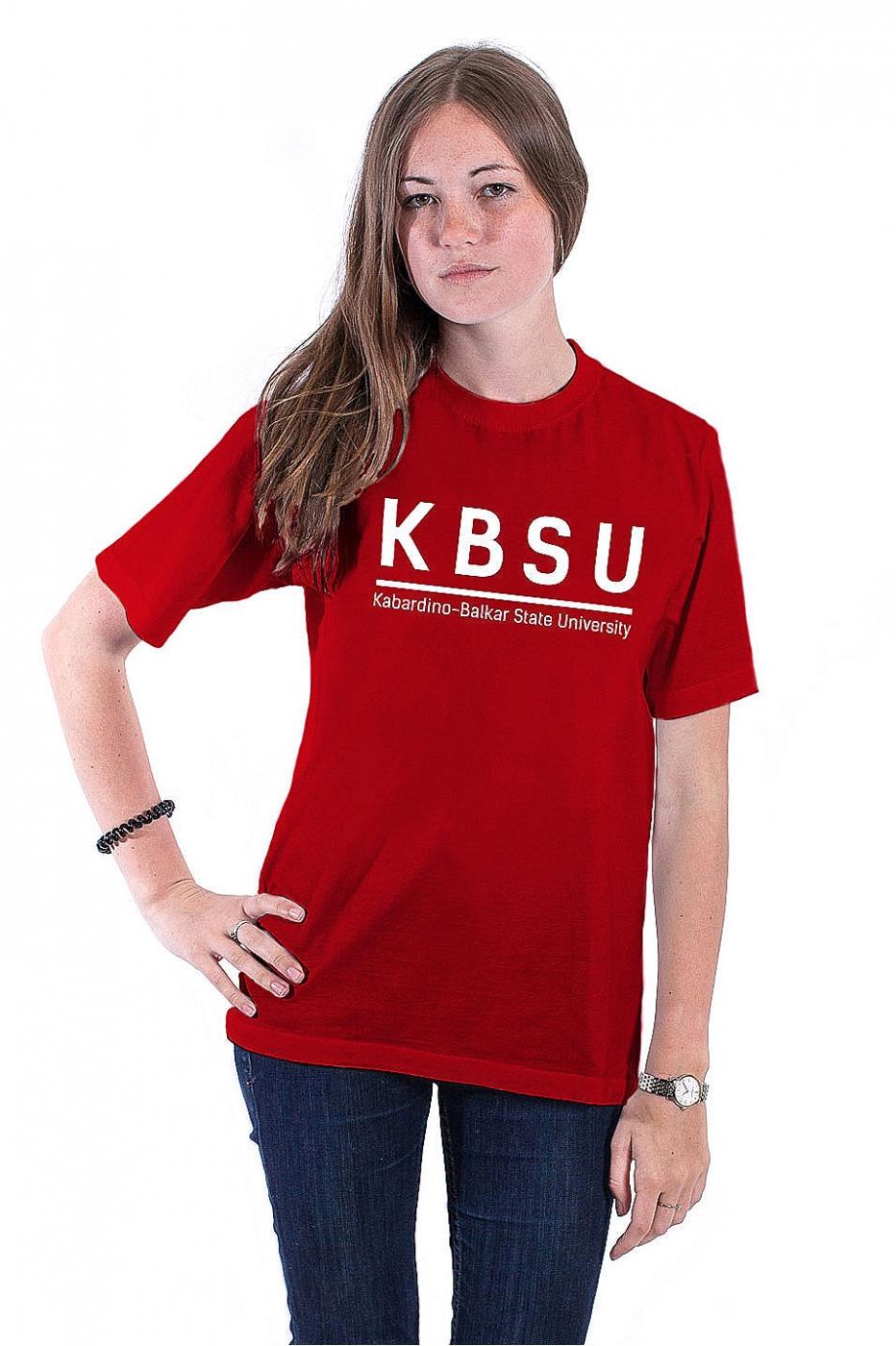 Футболка КБГУ №3