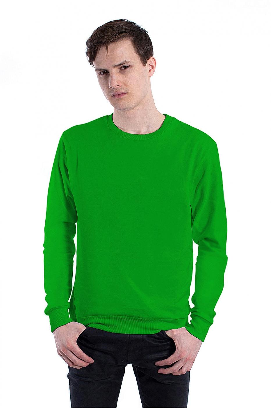 Зеленый свитшот