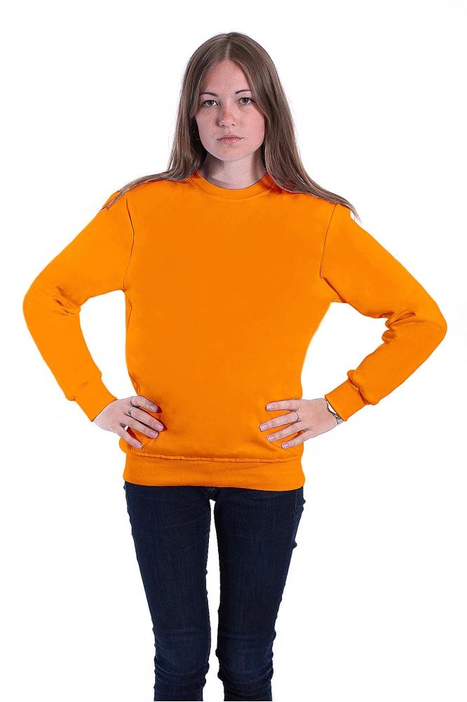 Оранжевый свитшот