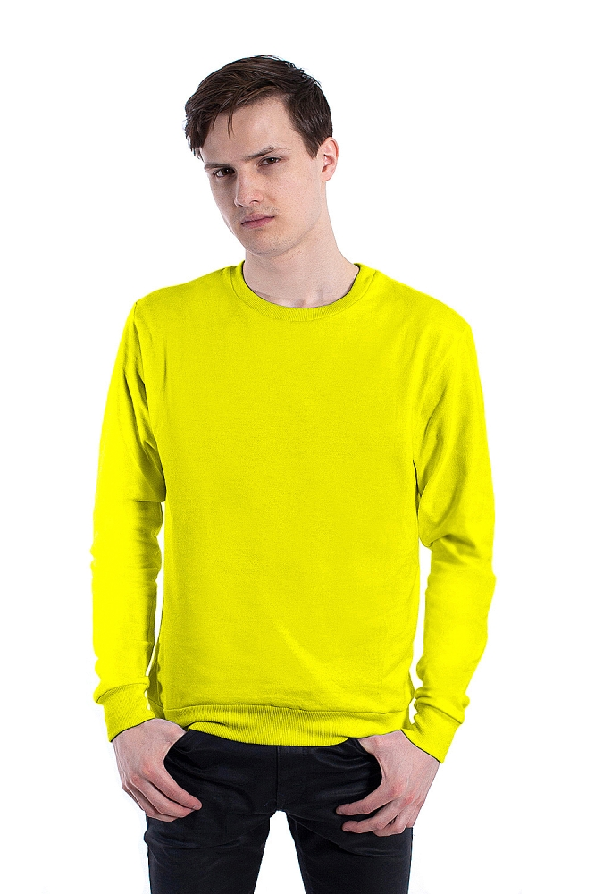Желтый свитшот
